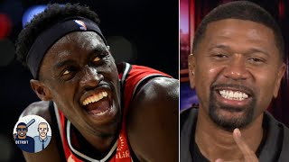 Jalen Rose reacts to the Raptors snapping the Lakers' win streak | Jalen & Jacoby