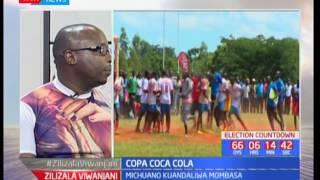 Fainali za michezo ya Copa Coca Cola zinaandaliwa kaunti ya Mombasa: Zilizala Viwanjani pt 2