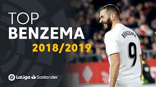 TOP Moments Karim Benzema LaLiga Santander 20182019