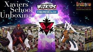 X Men Xaviers School Heroclix Unboxing!!!