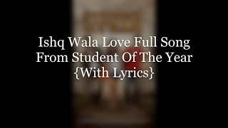 Ishq Wala Love (Lyrics) - YouTube