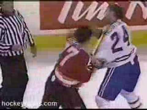 Scott Thornton vs. Todd Simpson