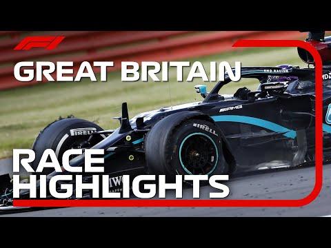 F1 2020 第4戦イギリスGP レースハイライト動画