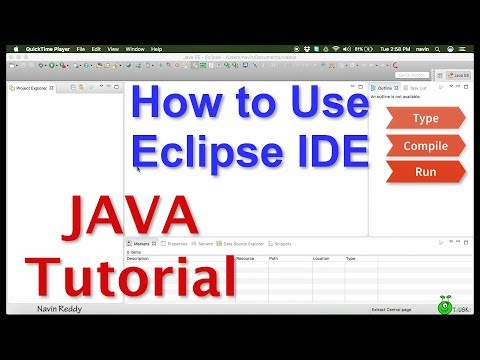 #0 Java Tutorial | How to use Eclipse