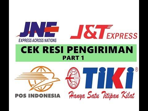 Cara Cek Resi/Lacak Paket Pengiriman (JNE, J&T, POS, TIKI) Via Website - Part 1