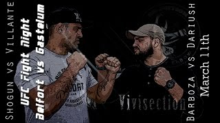 The MMA Vivisection - UFC Fortaleza: Belfort vs. Gastelum picks, odds, & analysis