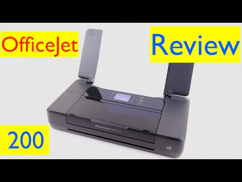 HP OfficeJet 200 Mobile Printer Review