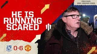 ED'S DAYS ARE NUMBERED! Tranmere 0-6 Man Utd | FA Cup 4th Round Fan Cam