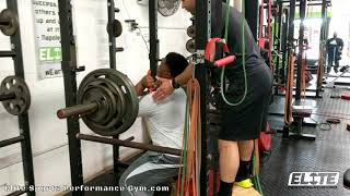 Football Athlete Front Box Squat