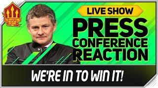 Solskjaer Press Conference Reaction! Manchester United vs PSG   Man Utd News