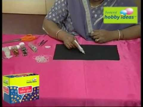 (Fabric Glue) Making & designing a jewellery Box