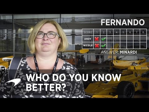 Who do you know better? Your partner or Fernando? |  MCLRN+
