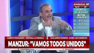 """Guillermo Moreno: """"Alberto Fernández no es peronista"""""""