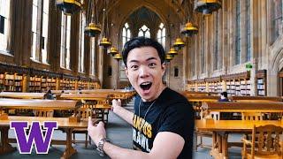 What's It Like Inside University of Washington? | UW Campus Crawl Tour