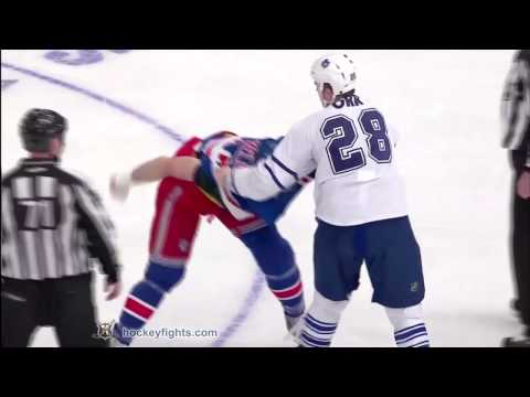 Colton Orr vs Jody Shelley