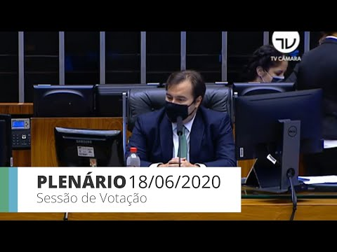 Plenário - Projeto que permite teleatendimento para fisioterapia - 18/06/20 - 15:04