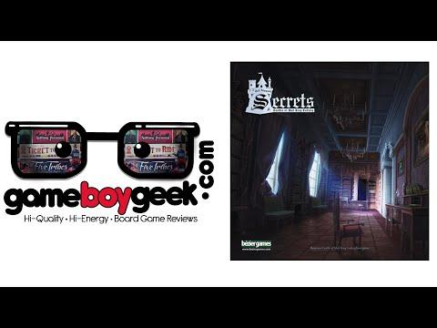 The Game Boy Geek Reviews Secrets