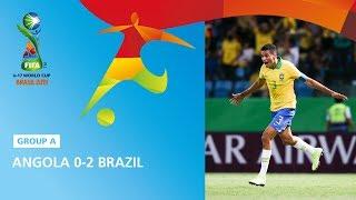 Angola v Brazil Highlights - FIFA U17 World Cup 2019 ™