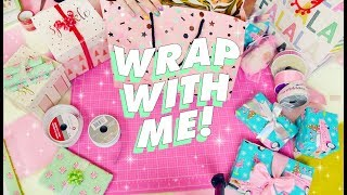 💕WRAP PRESENTS WITH ME (and lots of cats)!!!💕