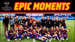 🔥💪 Road To UWCL Final (Gothemburg 2021)