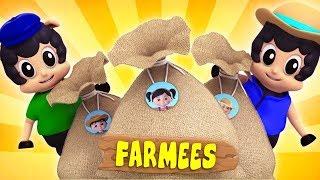 Baa Baa Black Sheep | Kindergarten Nursery Rhymes For Children | Baby Song For Kids by Farmees