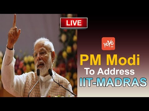 PM MODI LIVE   PM Modi To Address IIT-Madras 56th Annual Convocation Ceremony   YOYO Hungama