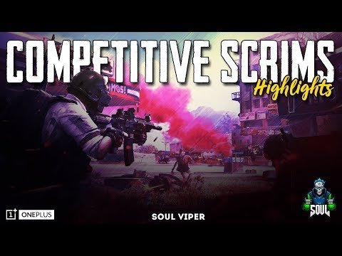 Competitive Scrims Highlights   Intense Final Circle   Team SouL   PUBG Mobile   OnePlus