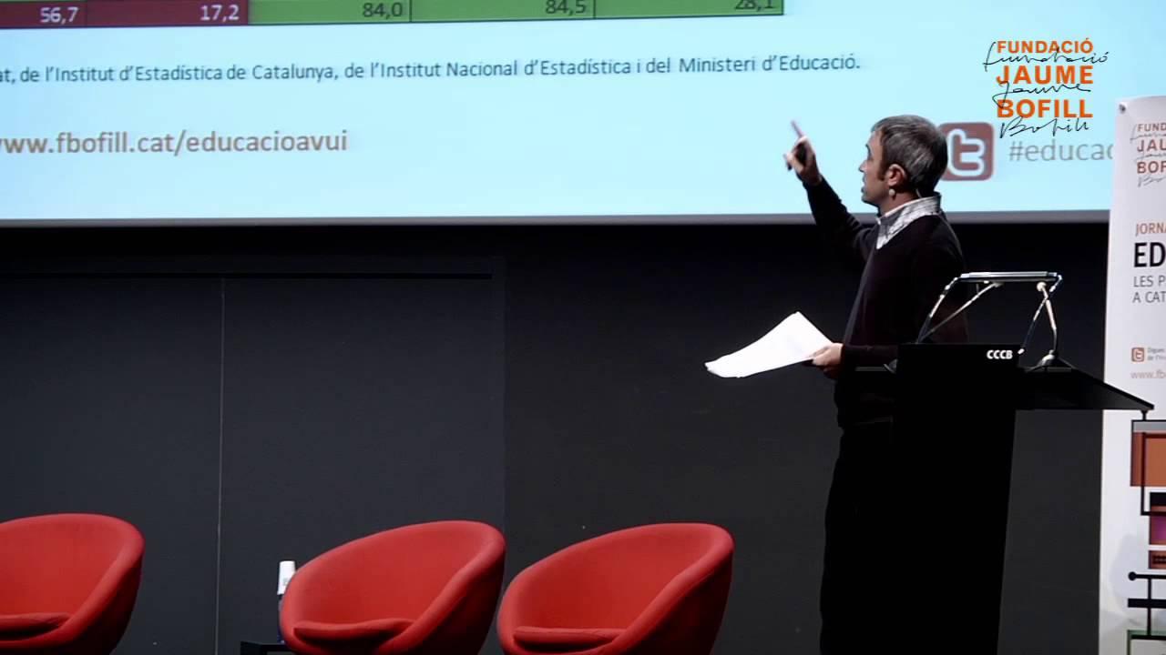 Bernat Albaigés - Indicadors principals de l'estat de l'educació a Catalunya