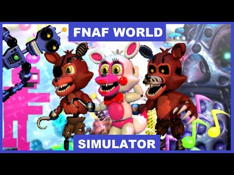 Fnaf world gameplay ep 1