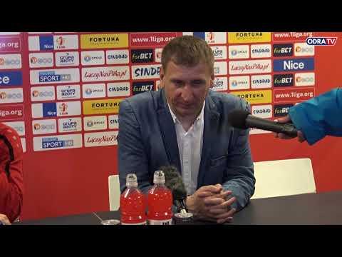 Konferencja prasowa po meczu Odra Opole - Stomil Olsztyn
