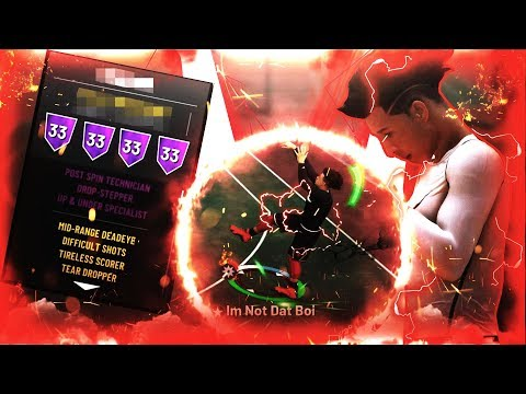 This SECRET BUILD is the MOST GLITCHY ARCHETYPE in NBA2K19