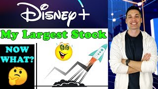My Largest Stock Finally Took Off! - Now What? -  (Disney Stock Update 2019)