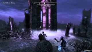 How to get Arvak Mount Skyrim Dawnguard (Arvak's Skull Location)