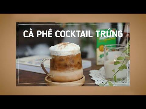 Cà Phê Cocktail Trứng - Đạt giải đặc biệt cuộc tri trổ tài barista tại nhà ☕