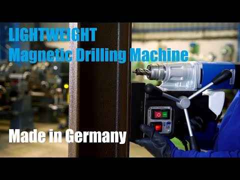 Lightweight Magnetic Drilling Machine with Keyless