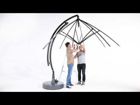 Sun Garden - Austausch des Zugseils bei Easy Sun Ampelschirm