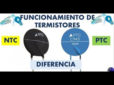 COMO FUNCIONAN LOS TERMISTORES NTC Y PTC || CARACTERÍSTICAS Y APLICACIÓN