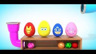 Учим цвета. Цифры  Развивающий мультфильм от 1до 3 лет  Игрушки для малышей