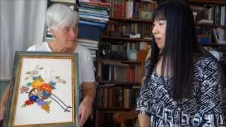 Lets Learn Japanese Embroidery In Manchester!