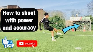 How to shoot in soccer with power and accuracy with my son – how to shoot a soccer ball with power