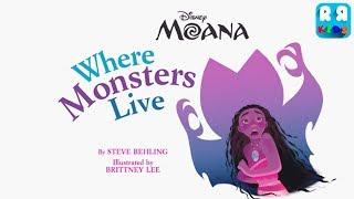 Moana: Where Monsters Live - iOS | Disney Storybook