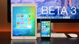 Apple iOS 9: Beta 3