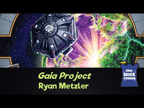 Dice Tower Reviews: Gaia Project - w/ Ryan Metzler
