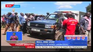 This is what transpired in Nandi county as aspirants express their disappointment
