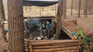Bushcraft & Fishing - Catch N' Cook on the Camp Fire!