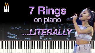 Ariana Grande - 7 Rings [Audio Illusion] Can A Piano Trick Your Mind?