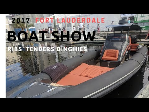 2017 Flibs Boat Show – Ribs Tenders and Dinghies