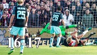 Feyenoord Rotterdam - All Goals First Half of the Season