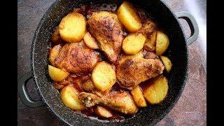 מתכון לעופות ותפוחי אדמה בבישול וצלייה