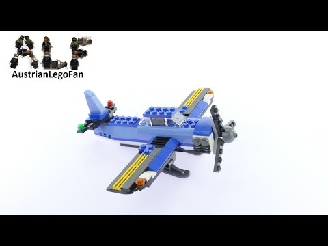 Vidéo LEGO Creator 31049 : L'hélicoptère à double rotor